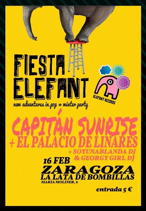 Fiesta Elefant en Zaragoza